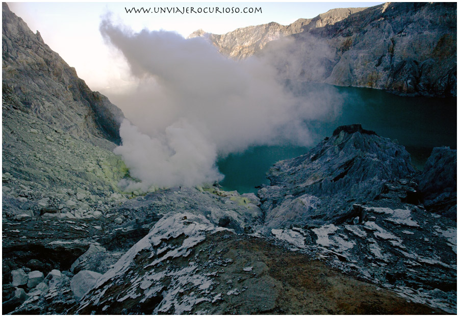 Indonesia volcán Ijen